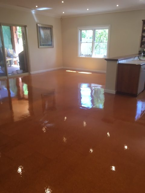 Cork Floor Recoating Perth
