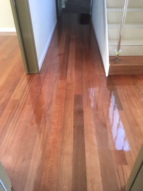 Timber Floor Project in Perth