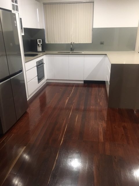 Jarrah Floor - Gloss Finish